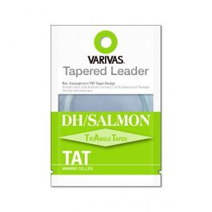 Varivas Fly Tapered Leader DH Salmon TAT 1X 18ft 0.26mm-0.54mm