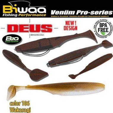 Shad Biwaa Deus Wakasagi 13cm 5buc