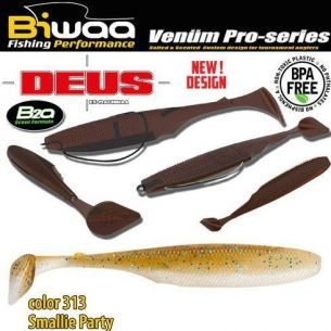 Shad Biwaa Deus Smallie Party 7.5cm 10buc