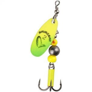Rotativa Savage Gear Caviar Fluo Yellow Chartreuse Nr.2 6g
