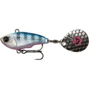 Spinner Tail Savage Gear Fat Tail Blue Silver Pink 8cm 24g