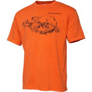 Tricou Savage Gear Cannibal Ink Orange XL