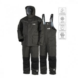 Costum De iarna Norfin Element Gray Geaca + Pantalon Piept XXL