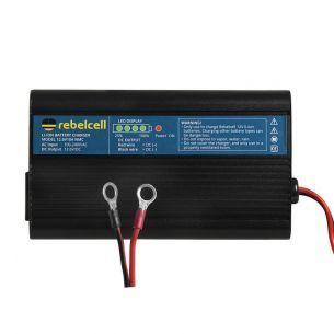 Incarcator Rebelcell Litiu Ion 12.6V/10A Pentru Modele 35,50 si 70Ah