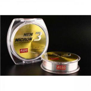 Fir Asso New Micron 3 Clear 0.204mm 100m 3.6kg