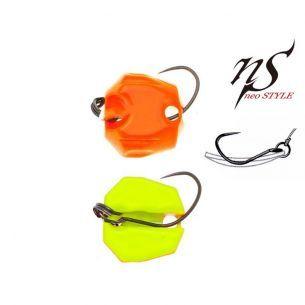 Oscilanta Neo Style Premium Super Fluo Glossy Orange/Yellow 1.8g