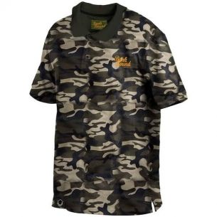 Tricou Polo Prologic Bank Bound Camo XL