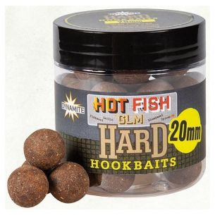 Boilies Carlig Dynamite Baits Hot Fish GLM Hard Hookbaits 20mm