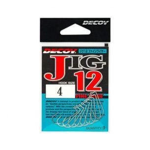 Carlige Jig Decoy Japan Jig12 Fine Wire Nr.2/0 9buc