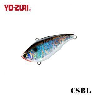 Vobler Yo-Zuri Rattlin Vibe CSBL Black Silver 6.5cm 17g