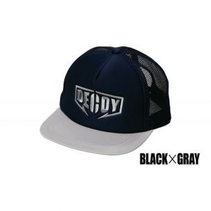 Sapca Decoy DA-17 Flat Mesh Cap Black Grey