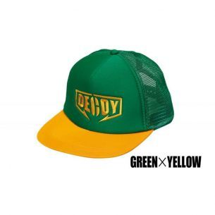 Sapca Decoy DA-17 Flat Mesh Cap Green Yellow