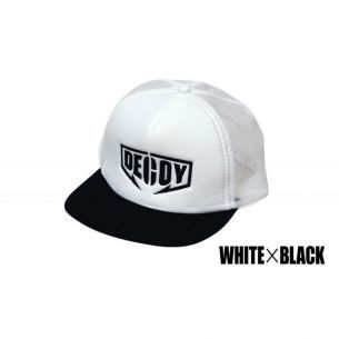 Sapca Decoy DA-17 Flat Mesh Cap White Black