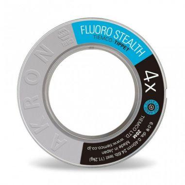 Fir Fluorocarbon Tiemco Stealth Tippet 50m 3.5X 0.18mm 6.5lb