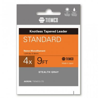 Inaintas Fly Tiemco Standard Tapered Leader 9ft 6X