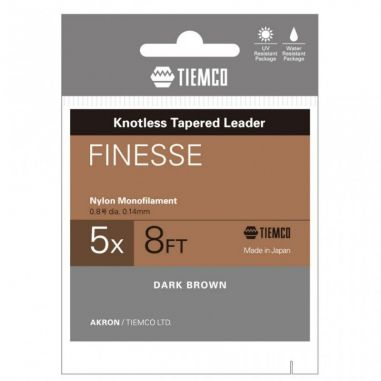 Inaintas Fly Tiemco Finesse Tapered Leader 8ft 4X