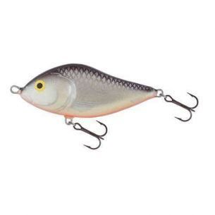 Vobler Salmo Slider SD7F GS  Grey Silver - Floating