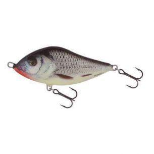 Vobler Salmo Slider SD7F RGS Real Grey Shiner - Floating