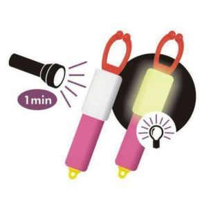 Bambine Tubulare Fluorescente 6cm 2buc