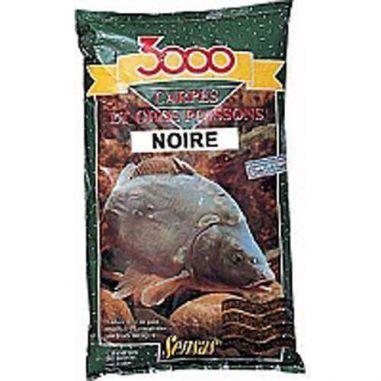 Nada Apa Rece Sensas 3000 Carp Black 1kg Sensas