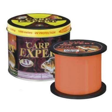 Fir Monofilament Carp Expert UV Fluo-Orange 0,25mm 1000m
