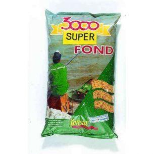 Nada Sensas 3000 Super Fond (Super Heavy Mix) 1kg