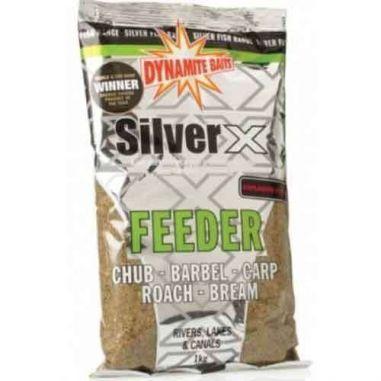 Nada Dynamite Baits Silver X Feeder Explosive Mix 1kg Dynamite Baits