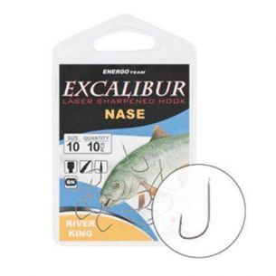 Carlige Excalibur Nase River King nr.12 (10buc)