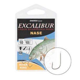 Carlige Excalibur Nase River King nr.8 (10buc)