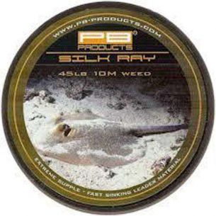 Leadcore PB Silk Ray 10m 45lb Weed