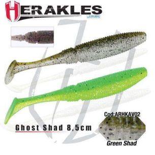 Shad Herakles Ghost Shad Green Shad 8.5cm 8buc