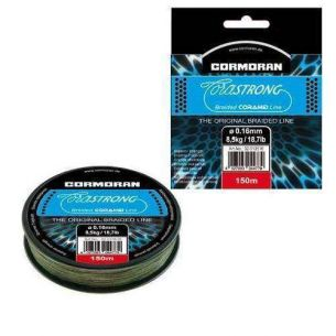 Fir Textil Cormoran Corastrong Verde 0.28mm 135m 18.2kg